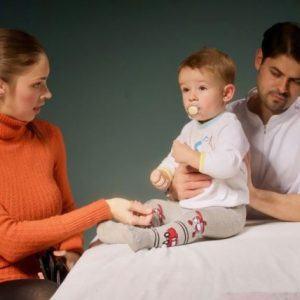 Pirmas kartas. Kūdikis pas osteopatą